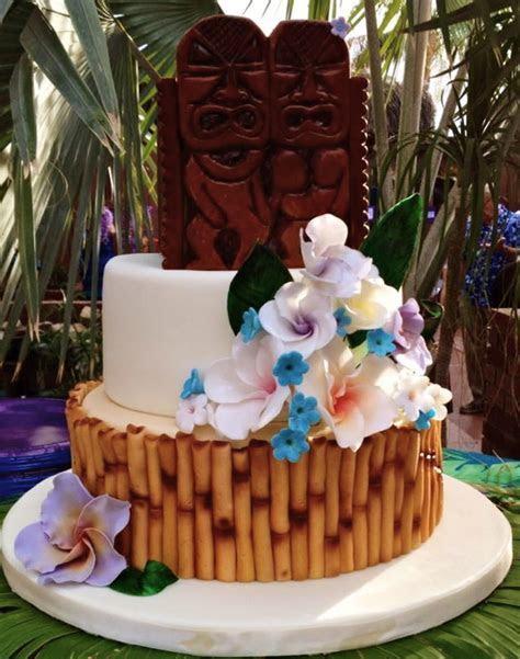 Tiki Luau Cake   CakeCentral.com