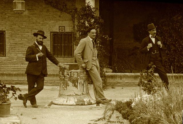 Museo del Greco en 1915. Fotografía de Luis Calandre Ibáñez
