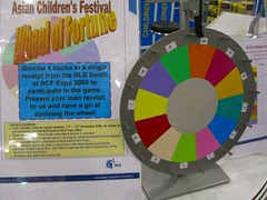 Asian Children's Festival 2005 - NLB Booth - Spin the Wheel