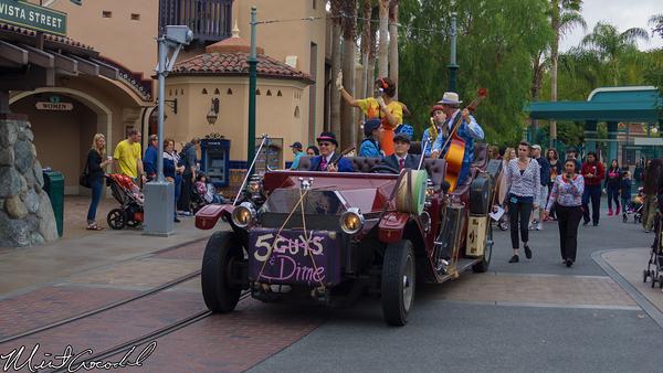 Disneyland Resort, Disney California Adventure, Five, Dime, Buena Vista Street