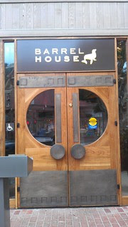 Barrel House Tavern Door