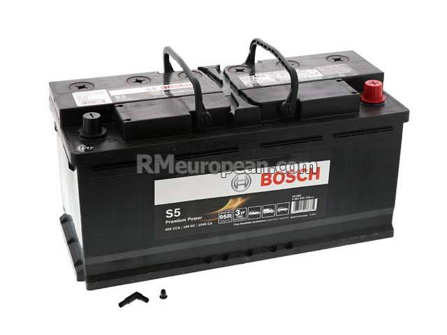 Bmw M5 Base Sedan E60 50l V10 Battery Bosch S5 Premium