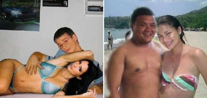 Homens que conseguiram a namorada perfeita de uma forma bem incomum