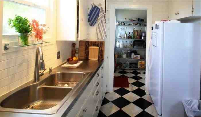 Diy Stainless Steel Kitchen Counter Tops On A Budget Do It Yourself Fun Ideas