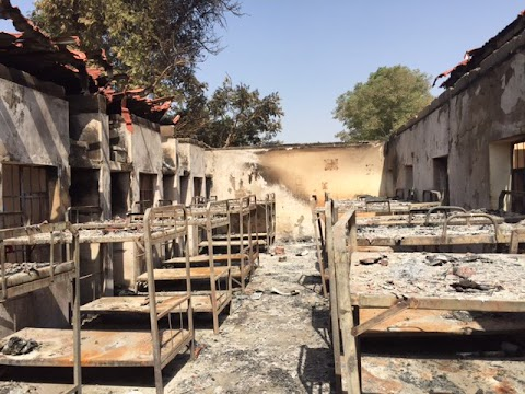 Blaze kills seven female students at a boarding school in Kano state.