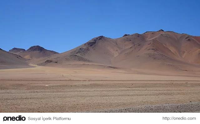 En Kurak Yer - Atacama Çölü, Şili