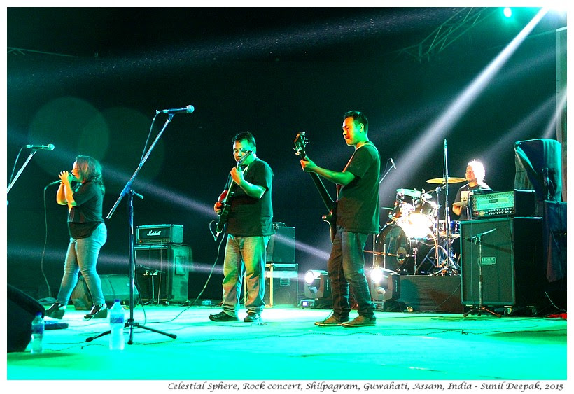 Celestial Sphere, Rock Music Concert, Guwahati, Assam, India - Images by Sunil Deepak