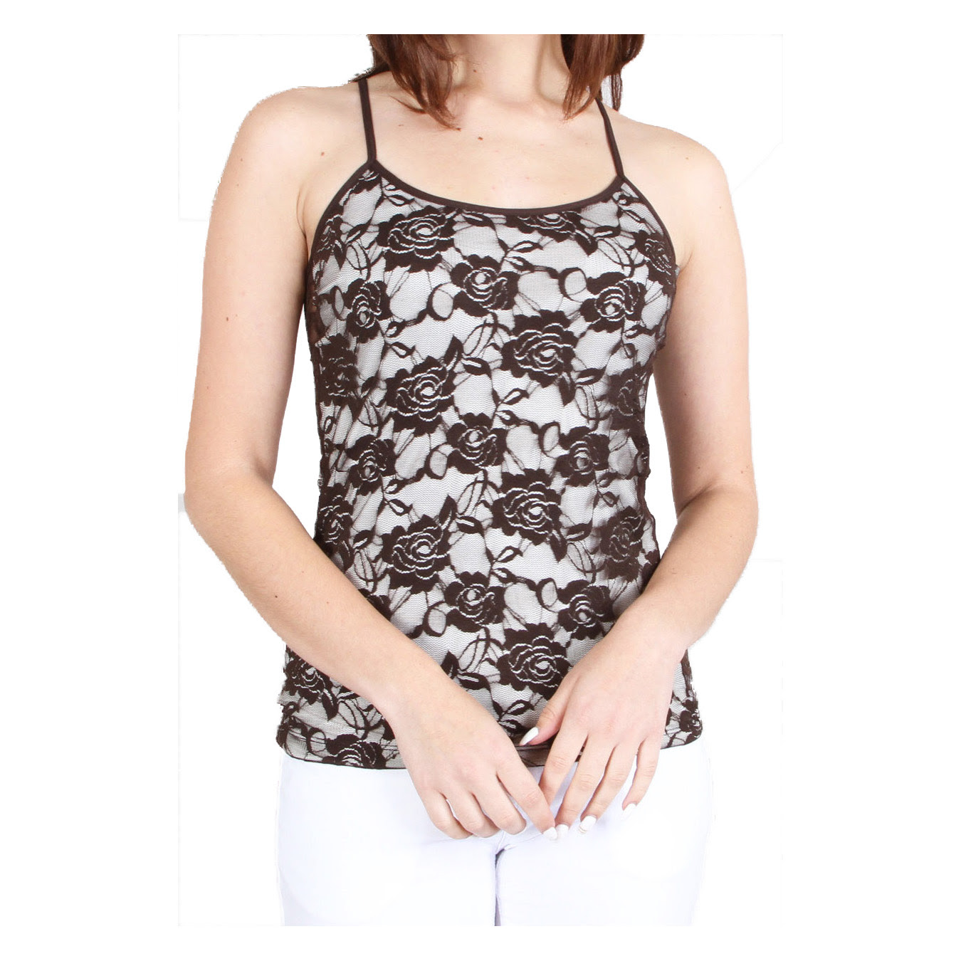 Camisole size for 16 tops women lace