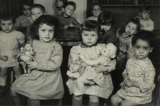 école maternelle - Après seconde guerre mondiale