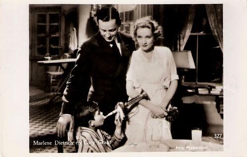 Marlene Dietrich, Herbert Marshall, Dickie Moore