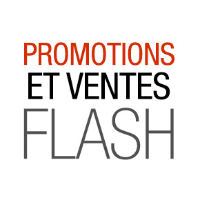 Ventes Flash et promotions