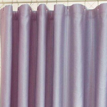 Ottoman Periwinkle Rib Shower Curtain - Shower Curtains at Shower ...