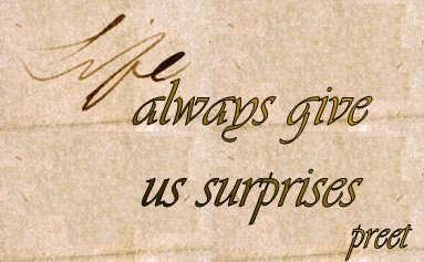 Quotes About Surprises 335 Quotes
