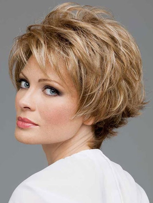 Short Haircuts For Women Over 60 With Thick Hair 77