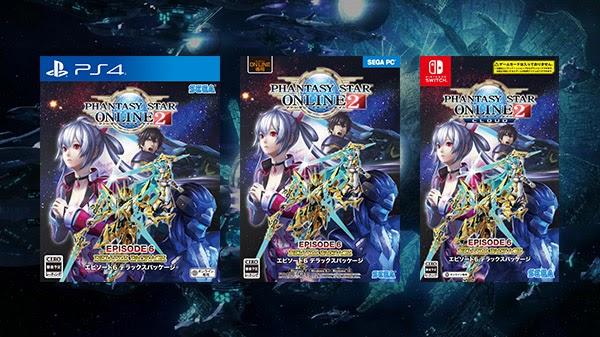 Phantasy Star Online 2: Episode 6 Deluxe Package para PS4, Switch e PC será lançado em 23 de abril no Japão