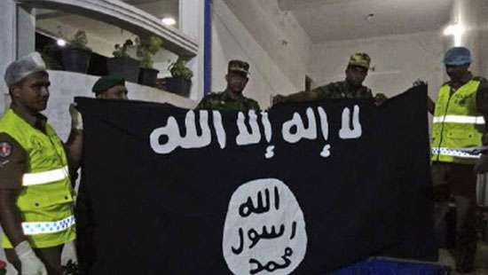 Image result for LANKA THOWHEED JAMATH TERRORISTS ARRESTED BY POLICE