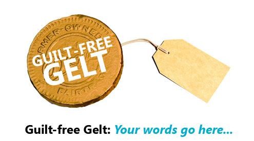 Guilt-free Gelt Tagline Contest Details