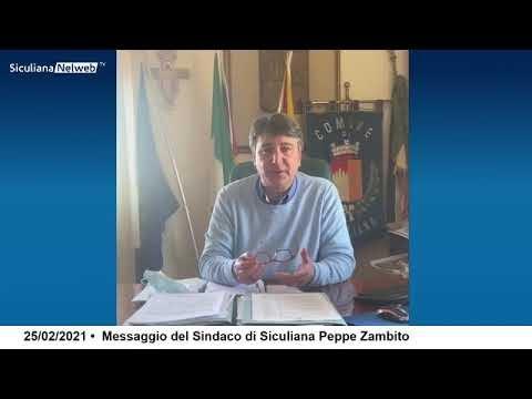Aggiornamenti Covid 19 - Videomessaggio del Sindaco Zambito