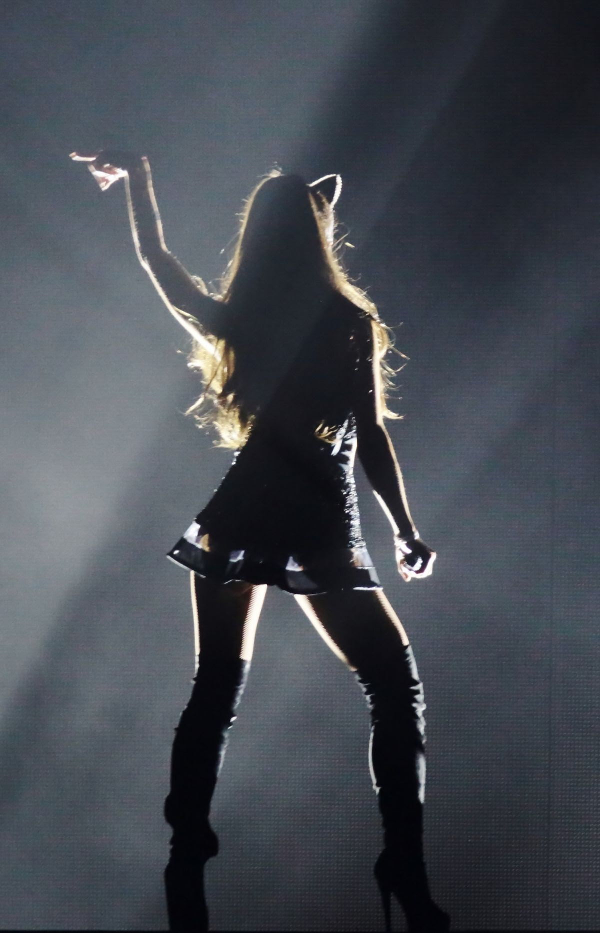 ARIANA GRANDE Performs at The Honeymoon Tour in Milan