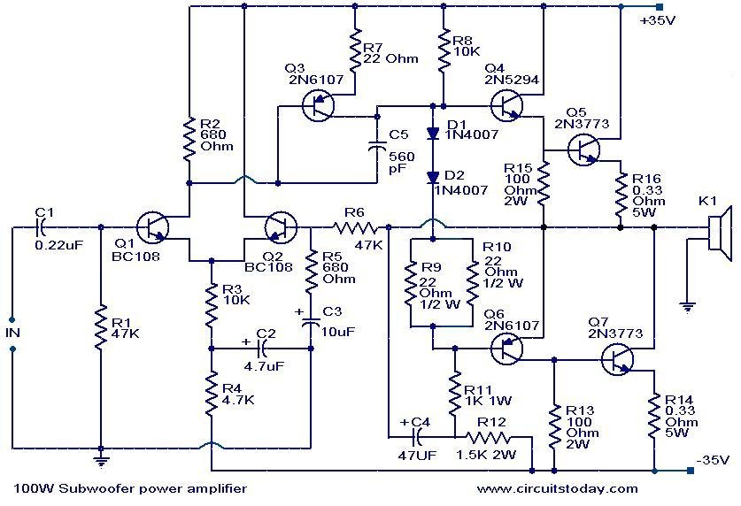 I M Yahica Intex 2 1 Home Theater Circuit Diagram Transformer