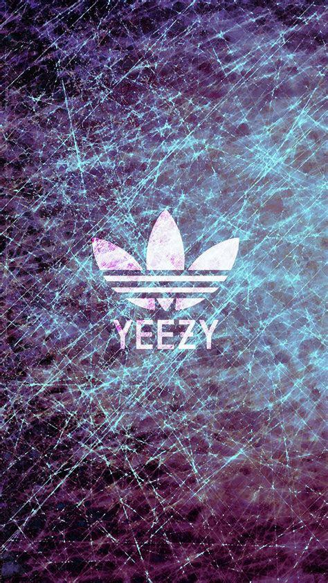 yeezy logo iphone wallpaper hd