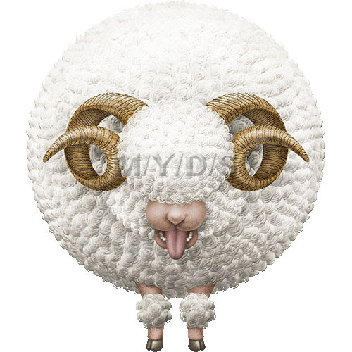 年賀用イラスト未年ひつじどし羊のイラスト条件付フリー素材集