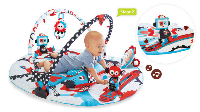 Robo Playland Giveaway toy baby