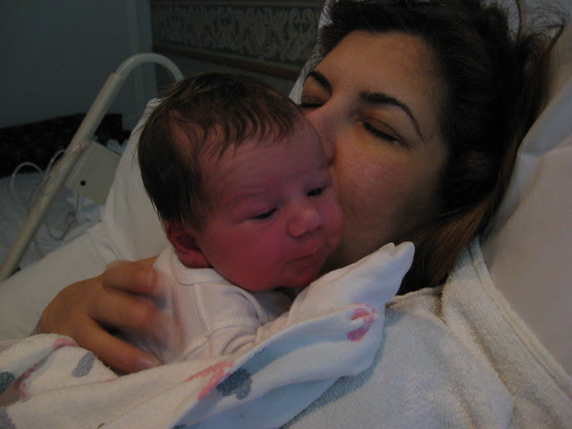 Oliver and mommy :)