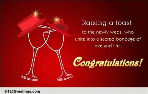 Raising A Toast! Free Congratulations eCards, Greeting