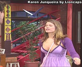 Karen Junqueira sensual na serie Malhação