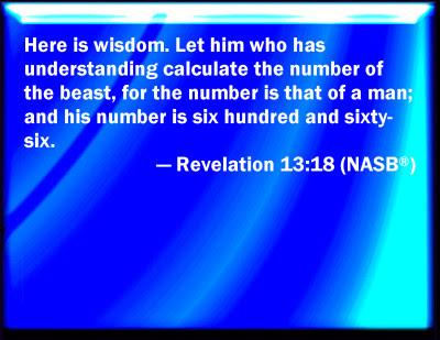 Bildergebnis für revelation 13 18