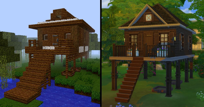 Mod The Sims - Dark Oak Swamp House