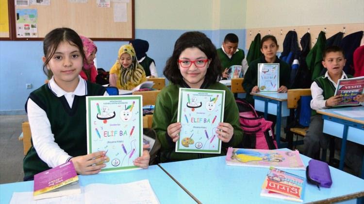 Yozgat Haberleri öğretmenler Elif Ba Boyama Kitabı çıkardı 18