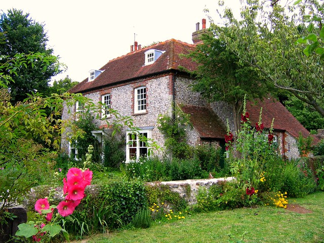 Cottage on the South Downs Way near Litlington, East Sussex