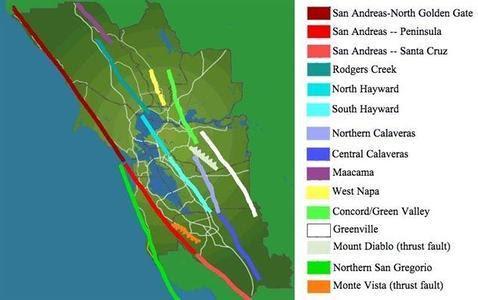 La falla de San Andrés acumula energía para un gran terremoto en California