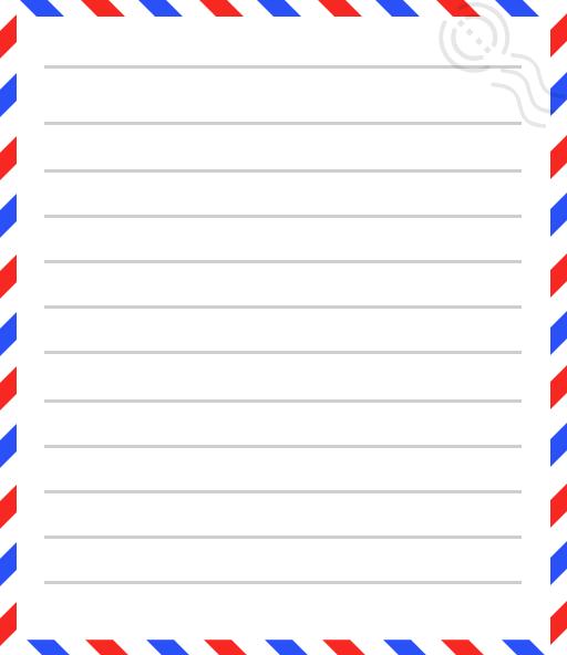 Pantonour ورقة A4 ورق مسطر جاهز للطباعة Word