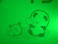 Panda on LCD