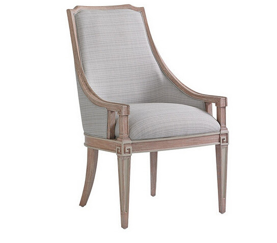 upholstered dining chairs with arms solid wood arm chairs ...