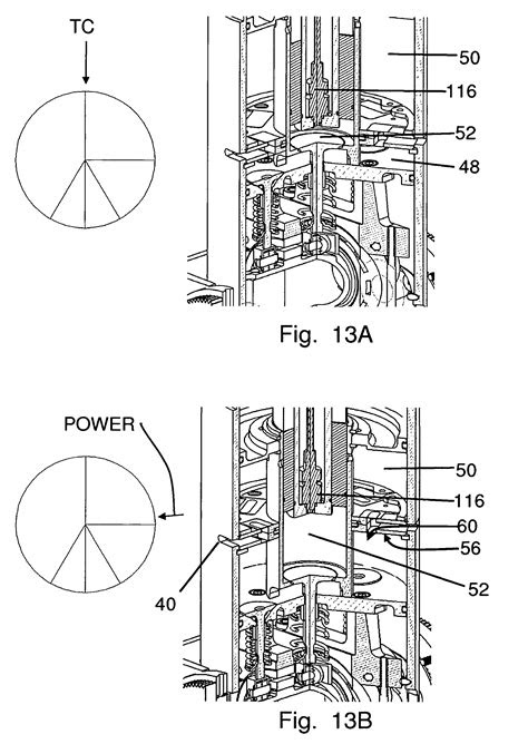 Patent US8210136 - Two-stroke opposed cylinder internal