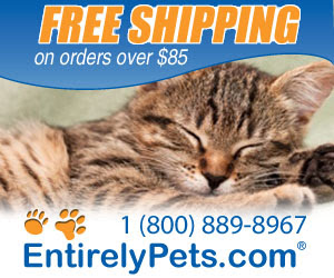 Free shipping on orders over $85, always low prices at EntirelyPets.com
