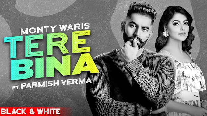 TERE BINA (OFFICIAL B&W) LYRICS MONTY & WARIS ft PARMISH VERMA