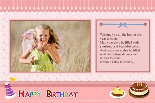 Birthday Card Psd Template Card Design Template