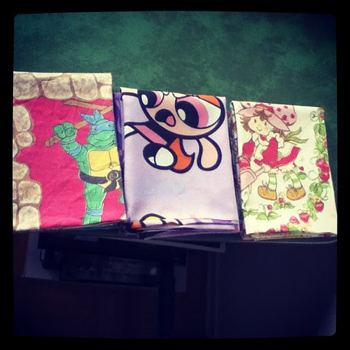 The last of the pillowcases for this weekend. #powerpuffgirls #tmnt #strawberryshortcake