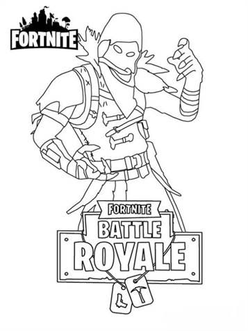 Fortnite Battle Royale Coloring Pages Porgi Zeichnungen