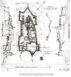 План Хустського замку 1