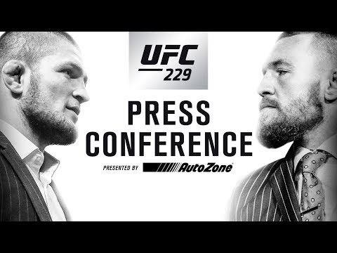 Buzz Canada : UFC 229 Press Conference: Khabib vs McGregor - En_Viral ⚡