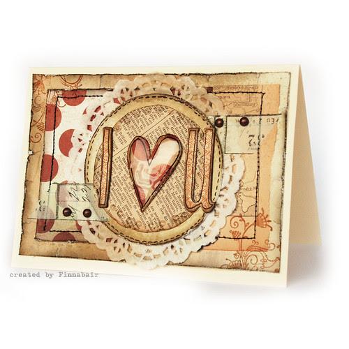 Kartka walentynkowa - Valentine