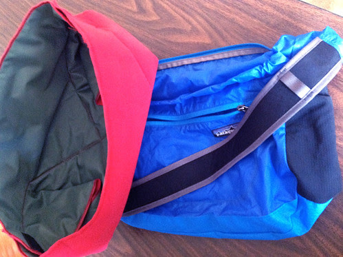 Patagonia Lightweight Travel Courier with Domke Wrap