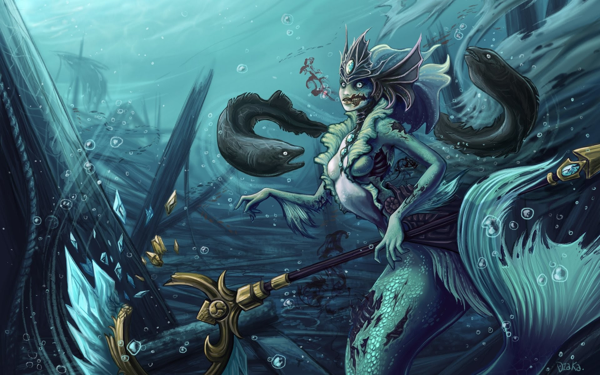 League Of Legends Nami Wallpaper 69 Images