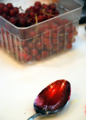 red currants jam